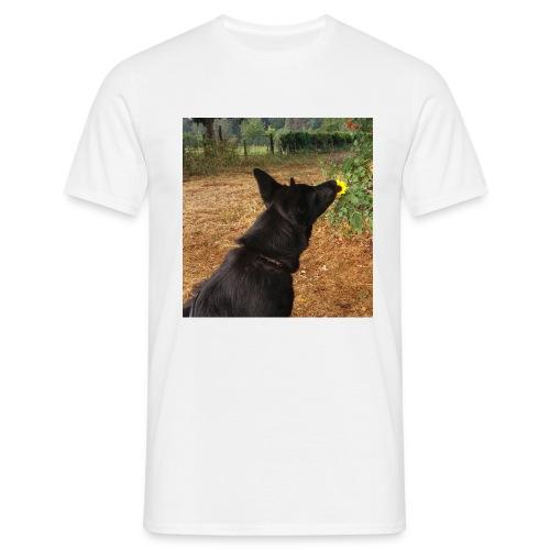 Schwarzer DSH - Männer T-Shirt