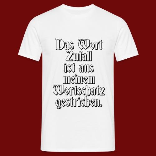 Zufall - Männer T-Shirt