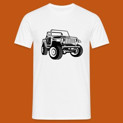 Geländewagen / Jeep SUV 03_schwarz - Männer T-Shirt