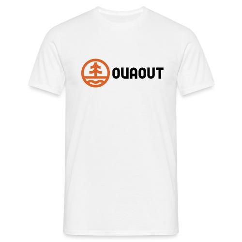 OVAOUT Logo - Männer T-Shirt