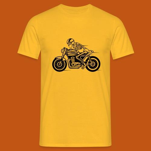 Cafe Racer Motorrad 05_schwarz - Männer T-Shirt