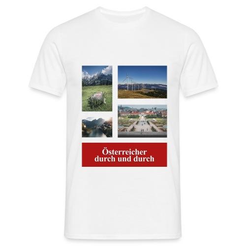 Österreicher durch und durch - Männer T-Shirt