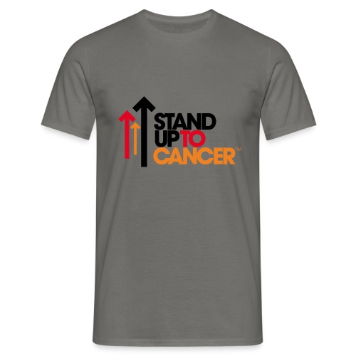 stand up to cancer logo - Men's T-Shirt