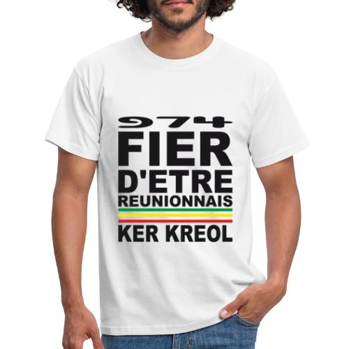 974 ker kreol fier et culture - T-shirt Homme