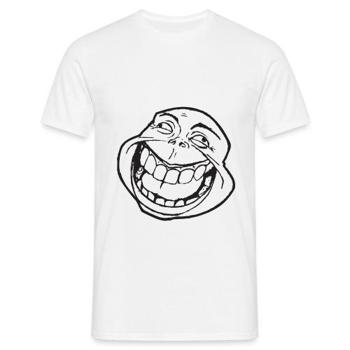 meme face not really by xarity d4es290 png - Mannen T-shirt