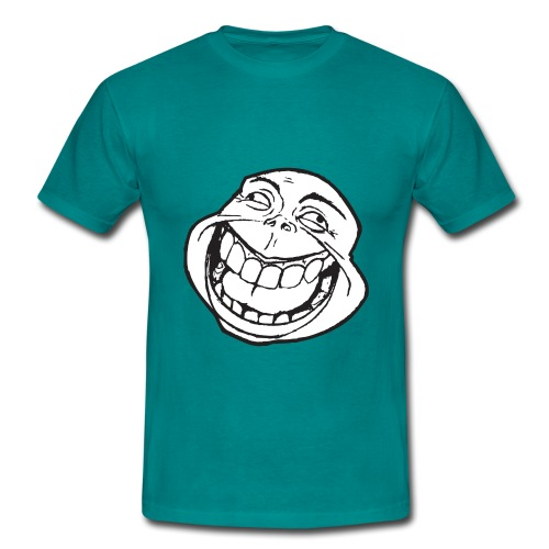 meme face not really by xarity d4es290 png - Mannen T-shirt