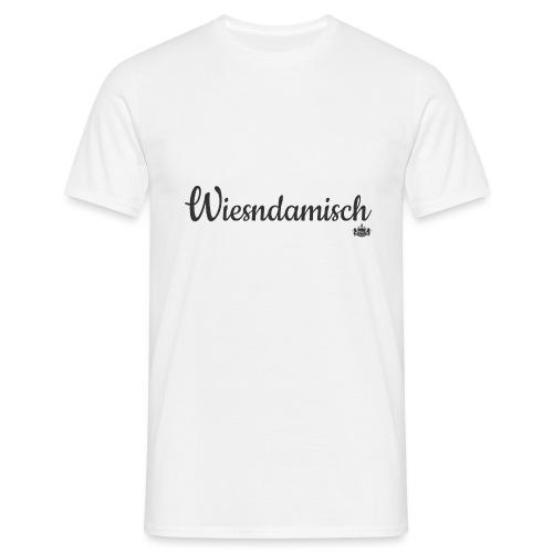Wiesndamisch Dunkel - Männer T-Shirt