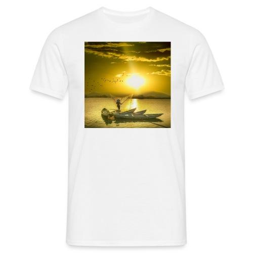 Tramonto - Maglietta da uomo