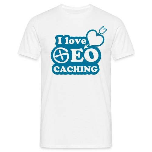 I love Geocaching - 1color - 2011 - Männer T-Shirt