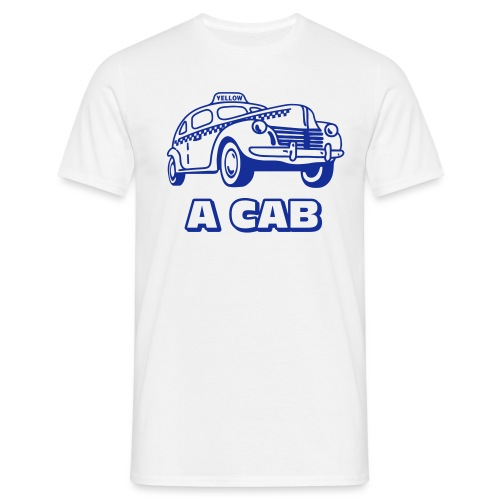 A cab - T-shirt herr