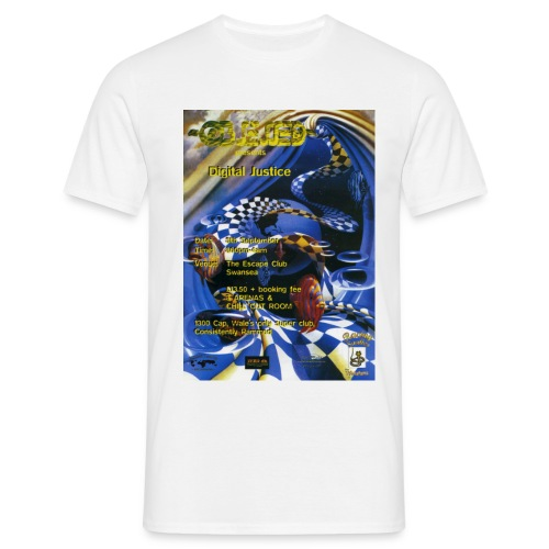 obsessed digitaljustice 0509 f - Men's T-Shirt