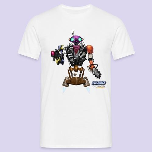 LuckyBot - Männer T-Shirt