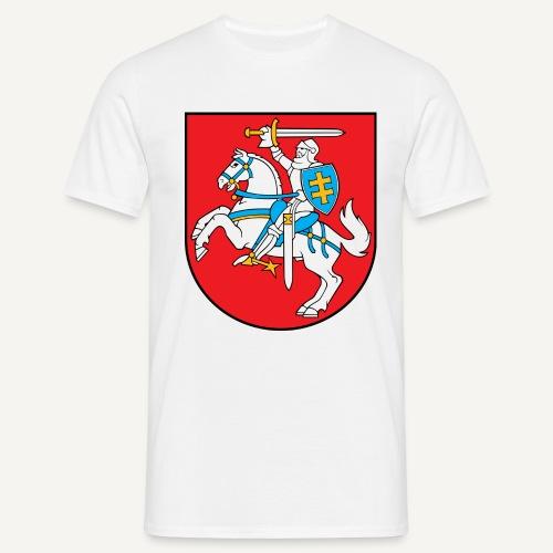 coat of arms of lithuania - Koszulka męska