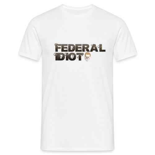 fed idiot png - Men's T-Shirt