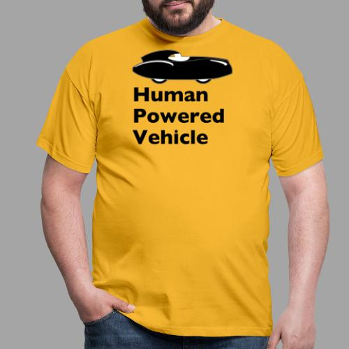 Quattrovelo Human Powered Vehicle black - Miesten t-paita