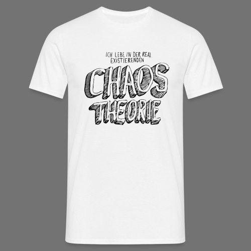 Chaos Theory (musta) - Miesten t-paita