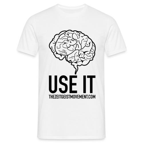 brain use it - Maglietta da uomo