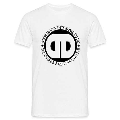 Different Drumz Logo 2020 Black V2 - Men's T-Shirt