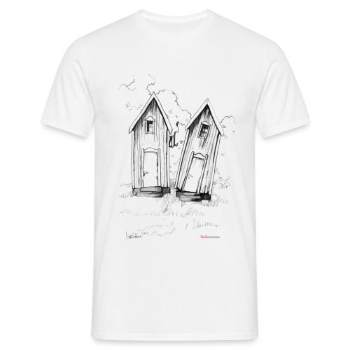 kaksoset logo - Miesten t-paita