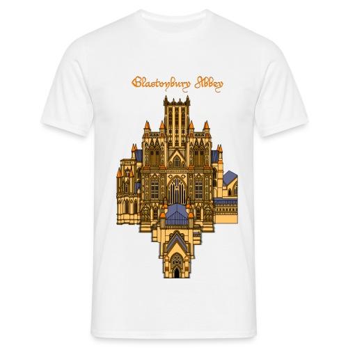 glastonbury abbey png - Men's T-Shirt