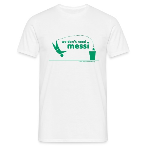Messi Green - Men's T-Shirt