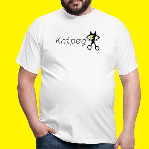 Knip gLogo - Mannen T-shirt
