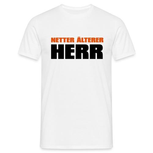 Netter älterter Herr - Männer T-Shirt