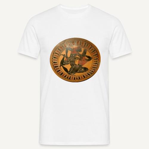 kylix theseus minotauros louvre f83 - Koszulka męska