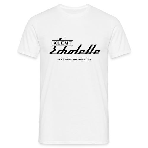 klemt echolette with strapline - Men's T-Shirt