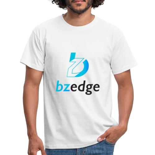 BZEdge Cutting Edge Crypto - Men's T-Shirt