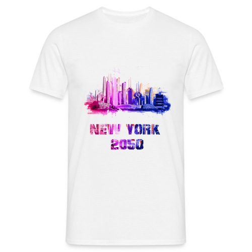 New York 2050 - T-shirt Homme