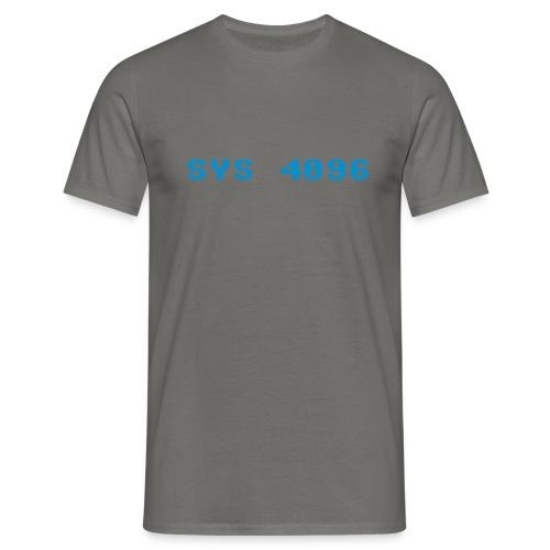 sys 4096 - Men's T-Shirt
