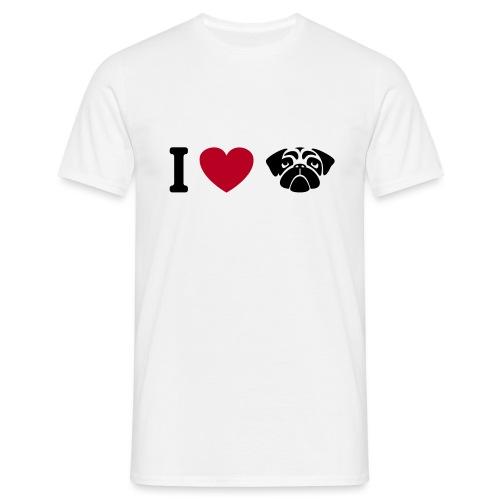 I love mops - Männer T-Shirt