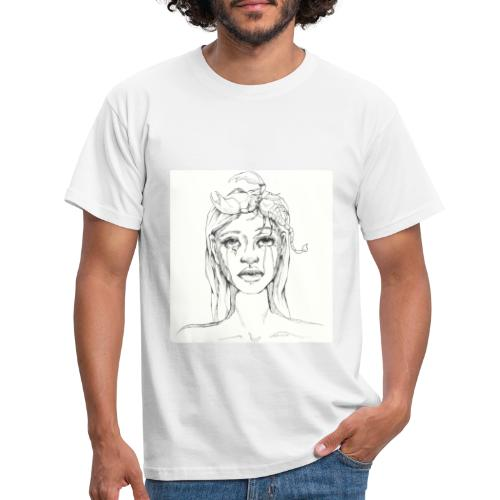 scorpion girl - Men's T-Shirt