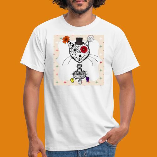 cat color - Men's T-Shirt