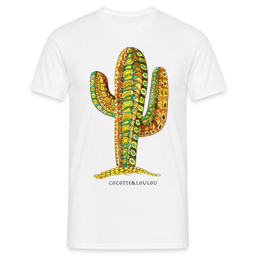 Le cactus - T-shirt Homme