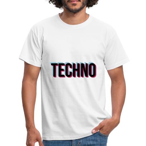 Trippy Techno - Männer T-Shirt