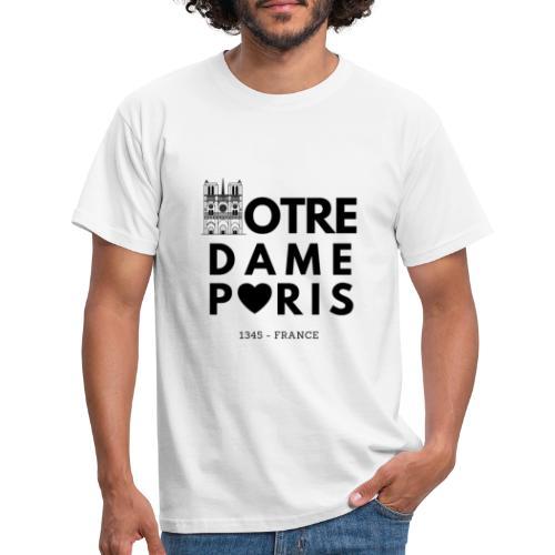 NOTRE DAME PARIS - T-shirt Homme