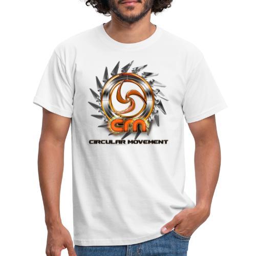 circular movement logo #1 - Männer T-Shirt