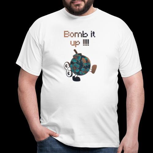 Bomb It Up : Bronze Power !!! - T-shirt Homme