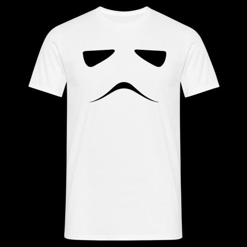 Stormtrooper Face - Men's T-Shirt