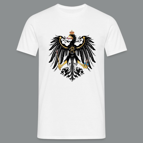 Preußischer Adler 1871 1914 svg png - Männer T-Shirt