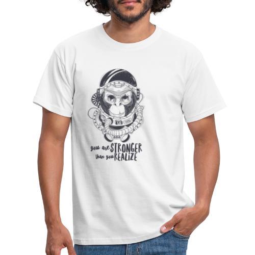 you are stronger - Männer T-Shirt