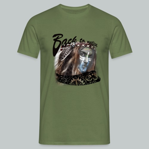 progress2 - Mannen T-shirt