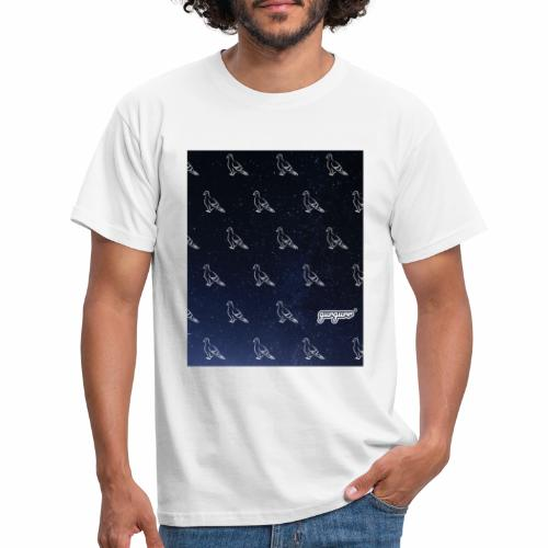 pigeonarmay in space - Männer T-Shirt