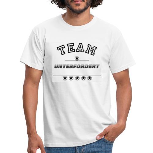 TEAM UNTERFORDERT - Männer T-Shirt