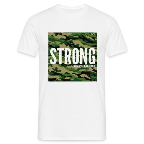 STRONG Camo - Men's T-Shirt