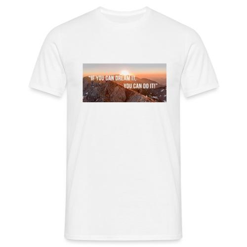 Motivation Job seekers - Men's T-Shirt