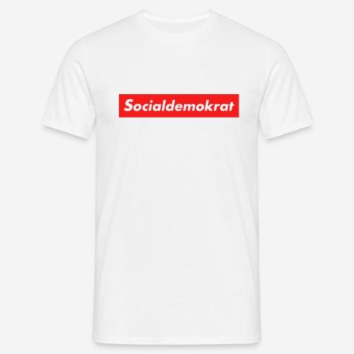 Socialdemokrat - T-shirt herr
