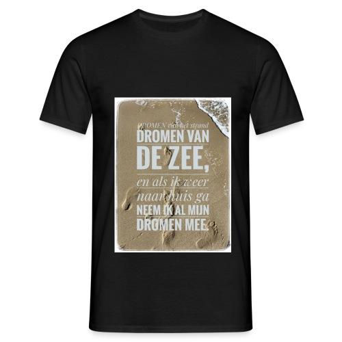 Dromen van het strand - Mannen T-shirt